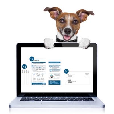 Registrierung DNA Test Hund